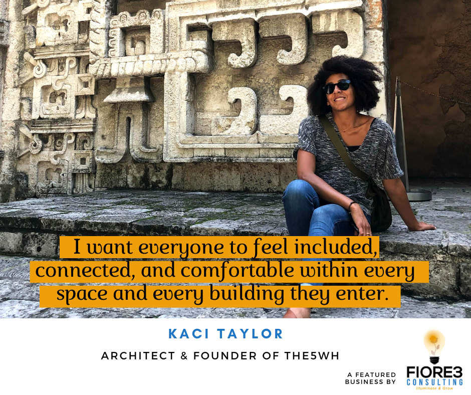Kaci Taylor architect & founder Quote